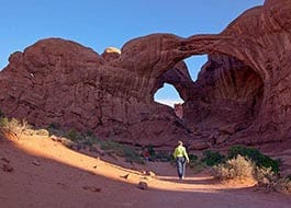 Moab Arches National Park Double O