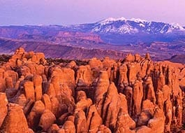 Moab Arches National Park Fiery Furnace Overlook