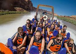 Splashing on the Colorado River