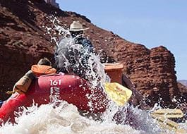 Moab River Rafting Cowboy Splash Behind