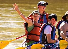 Moab River Rafting Friendly Smile