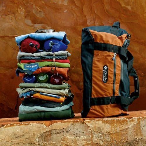 Packing for Southwest Sampler