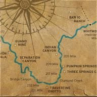 Map of Southwest Sampler