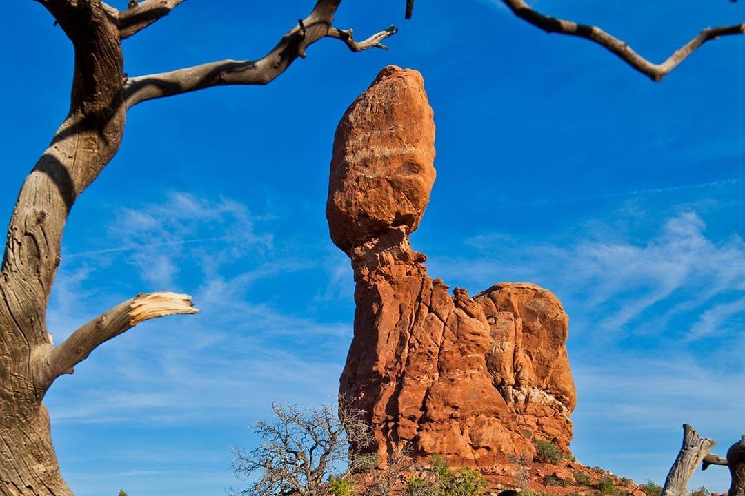 Moab Arches National Park Balanced Rock