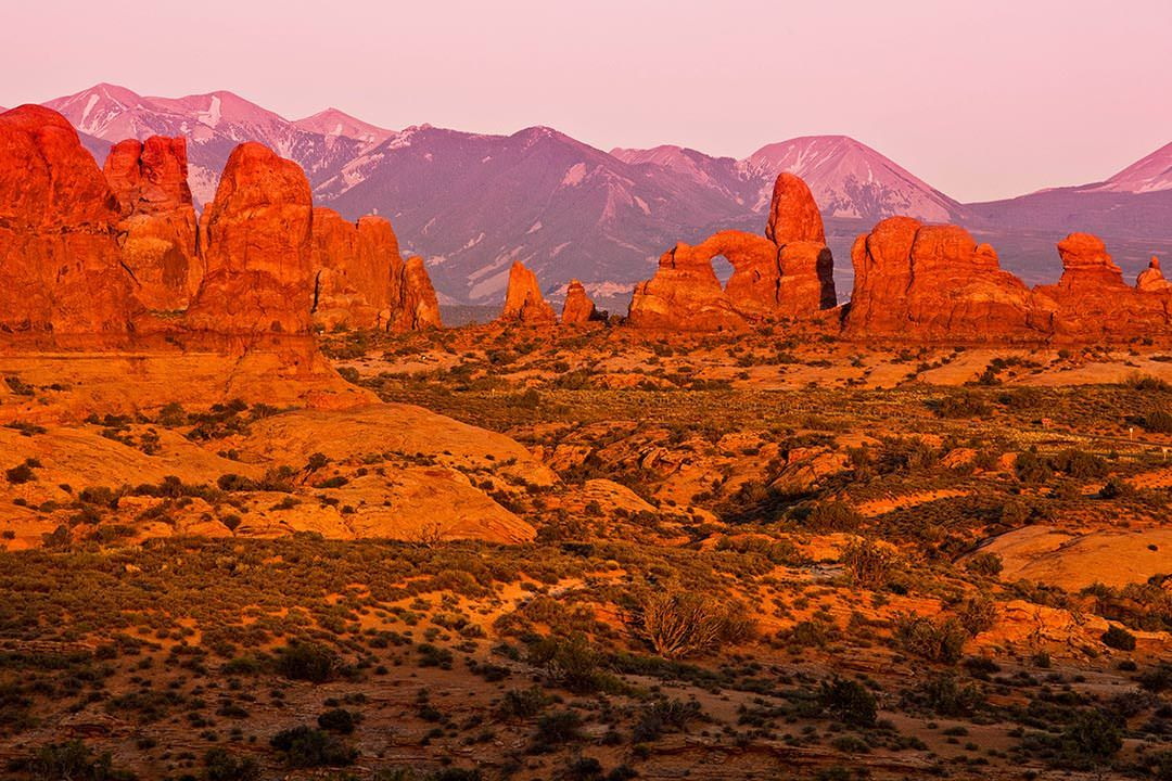 Moab Arches National Park Fins Lasals