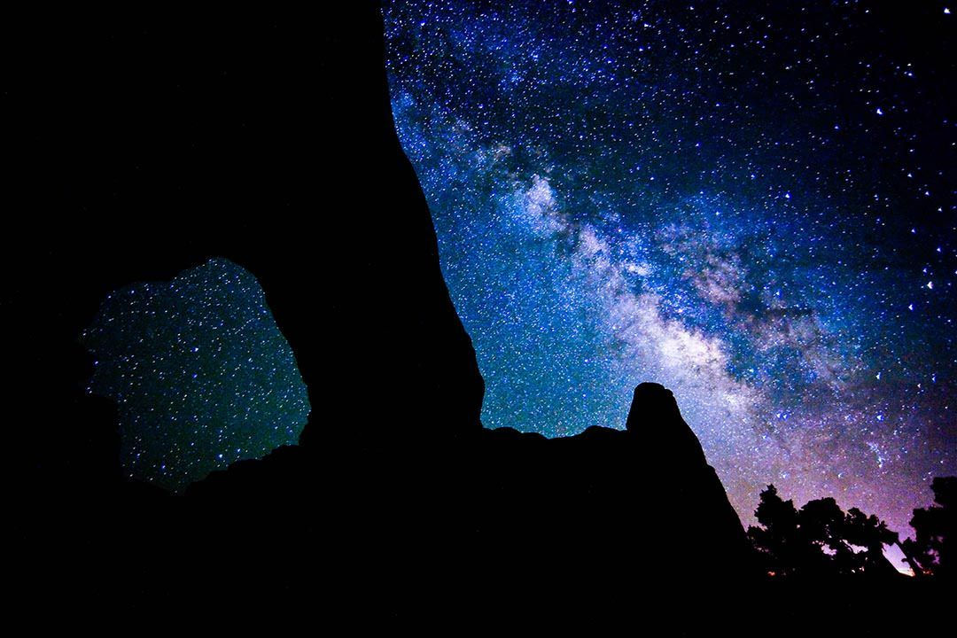 Moab Arches National Park Galaxy