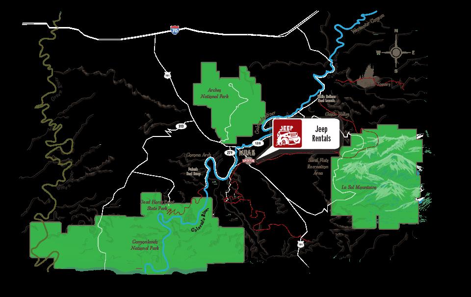 Moab Jeep Rental