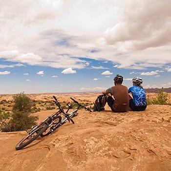 Moab Mountain Biking Vista