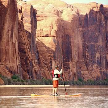 Moab Paddle Boarding Afternoon