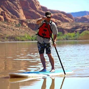 Moab Paddle Boarding Jason Style