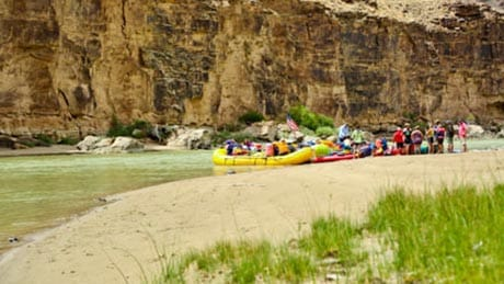 Desolation Canyon Utah Rafting Beach