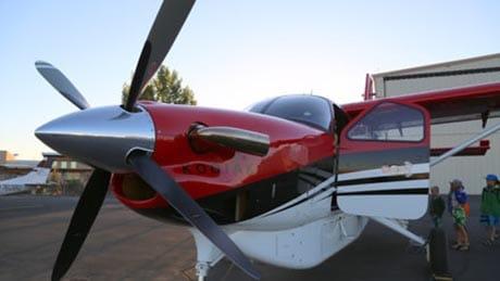 Desolation Canyon Utah Rafting Flight Plane