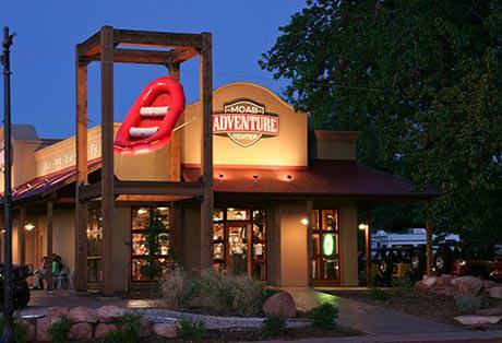 Moab Adventure Center Evening Distant