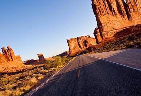 Moab Arches National Park Avenue