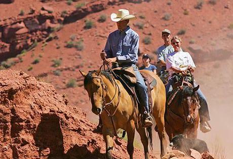 Moab Horseback Riding Cowboy