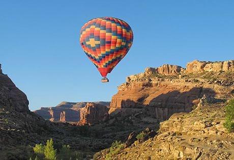 Moab Hot Air Balloon Rides Mill Canyon 02