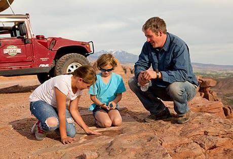Moab Hummer Tours Shad Dinosaur