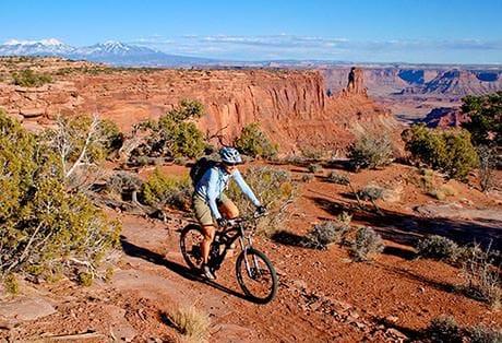 Moab Mountain Biking Dead Horse Point Singletrack 2