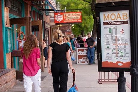 Moab Shopping