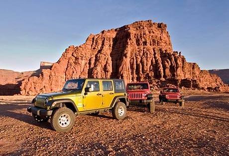 Moab Utah Jeep Redgreen Heros