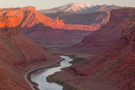 Scenic Byway 128 Colorado River