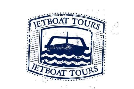 Stamp Jetboat