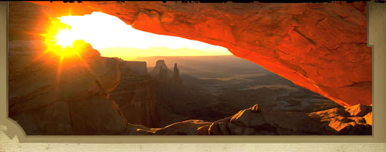 Canyonlands National Park - Mesa Arch at Sunrise