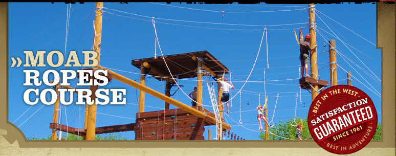 Moab Utah High Ropes Course