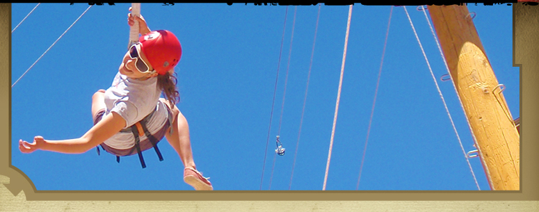 Moab High Ropes Challenge Course
