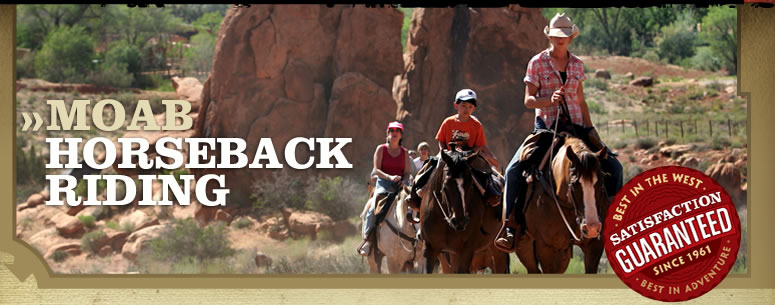Moab horseback riding trips