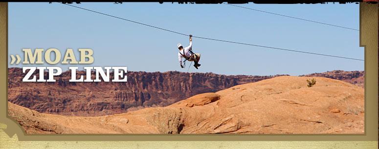 Zip Line Adventure In Moab Utah
