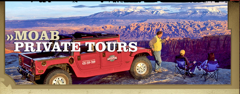 Private Tours in Moab Utah