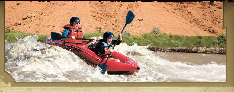 Utah Rafting - Green River