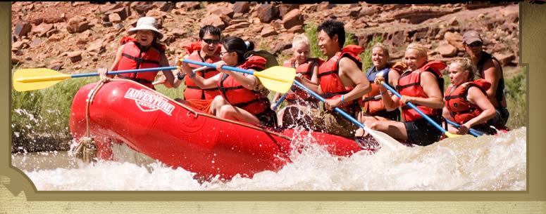 Moab River Rafting