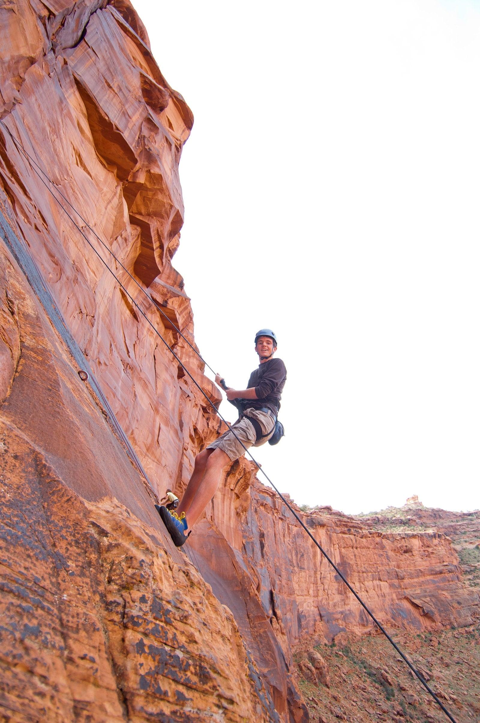 Moab Rock Climbing Photos
